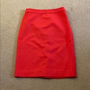 J Crew Factory Size 6 Wool Pencil Skirt